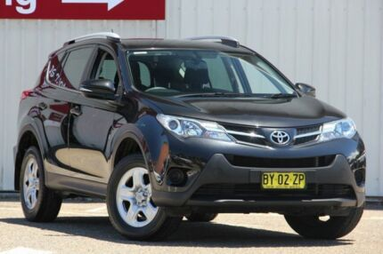 2013 Toyota RAV4 ZSA42R GX 2WD Black 7 Speed Constant Variable Wagon Tuggerah Wyong Area Preview