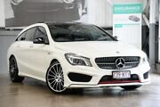 2016 Mercedes-Benz CLA250 X117 806MY Sport Shooting Brake DCT 4MATIC White 7 Speed Albion Brisbane North East Preview