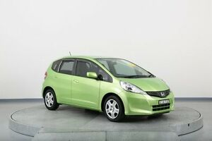 2012 Honda Jazz GE MY12 GLi Green 5 Speed Automatic Hatchback Old Guildford Fairfield Area Preview