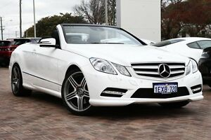 2013 Mercedes-Benz E350 A207 MY12 BlueEFFICIENCY 7G-Tronic + Avantgarde White 7 Speed Osborne Park Stirling Area Preview