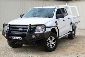 2015 Ford Ranger PX XL 3.2 (4x4) White 6 Speed Automatic Dual Cab Chassis Windradyne Bathurst City Preview