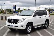 2015 Toyota Landcruiser Prado GDJ150R GX White 6 Speed Sports Automatic Wagon Wendouree Ballarat City Preview