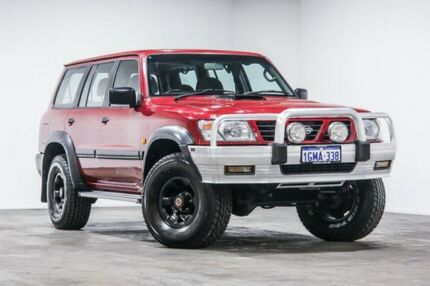 1998 Nissan Patrol GU ST Burgundy 5 Speed Manual Wagon Welshpool Canning Area Preview
