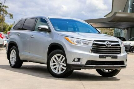 2016 Toyota Kluger Silver Sports Automatic Wagon