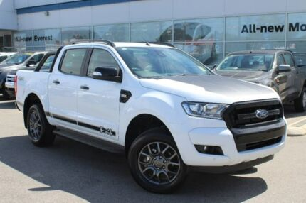 2017 Ford Ranger PX MkII MY18 FX4 Special Edition Frozen White 6 Speed Automatic Dual Cab Utility