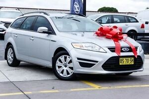 2012 Ford Mondeo MC Zetec Tdci Silver 6 Speed Sports Automatic Wagon Thornleigh Hornsby Area Preview
