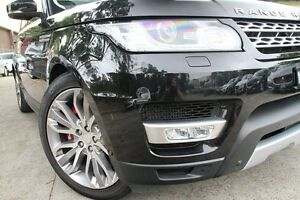 2014 Land Rover Range Rover LW Sport 3.0 SDV6 HSE Black 8 Speed Automatic Wagon Petersham Marrickville Area Preview