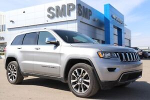2018 Jeep Grand Cherokee Limited -Leather, Nav, Sunroof, Rem Sta