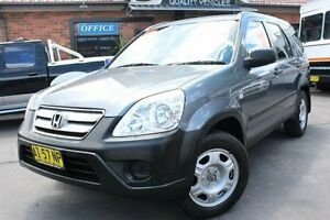 2006 Honda CR-V (4x4) Extra Silver 5 Speed Automatic Wagon Hamilton Newcastle Area Preview
