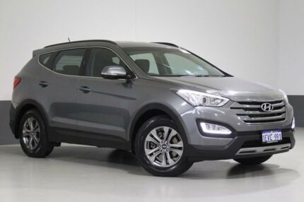 2015 Hyundai Santa Fe DM MY15 Active (4x4) Grey 6 Speed Automatic Wagon St James Victoria Park Area Preview