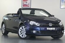 2012 Volkswagen Golf VI MY13 118TSI DSG Blue 7 Speed Sports Automatic Dual Clutch Cabriolet North Willoughby Willoughby Area Preview