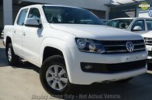 2014 Volkswagen Amarok 2H MY15 TDI400 4Mot Trendline Candy White 6 Speed Manual Utility Phillip Woden Valley Preview