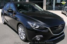 2015 Mazda 3 BM MY15 SP25 GT Safety Jet Black 6 Speed Automatic Hatchback Liverpool Liverpool Area Preview