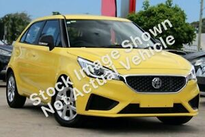 2018 MG MG3 SZP1 MY18 Core Yellow 4 Speed Automatic Hatchback Dandenong Greater Dandenong Preview