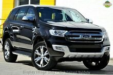 2015 Ford Everest UA Titanium Black Mica 6 Speed Sports Automatic Wagon Woodbridge Swan Area Preview