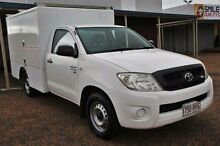 2010 Toyota Hilux GGN15R MY08 SR White Manual Utility Colyton Penrith Area Preview