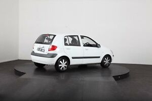 2008 Hyundai Getz TB Upgrade SX White 4 Speed Automatic Hatchback McGraths Hill Hawkesbury Area Preview