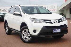2013 Toyota RAV4 ZSA42R GX 2WD White 7 Speed Constant Variable Wagon Balcatta Stirling Area Preview