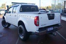 2014 Nissan Navara D40 S7 ST White 6 Speed Manual Utility Wangara Wanneroo Area Preview