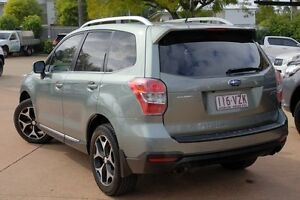 2013 Subaru Forester S4 MY14 XT Lineartronic AWD Premium Green 8 Speed Constant Variable Wagon