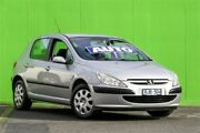 2002 Peugeot 307 1.6 Grey 4 Speed Sports Automatic Hatchback Ringwood East Maroondah Area Preview