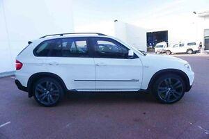 2010 BMW X5 E70 MY10 xDrive35d Steptronic White 6 Speed Sports Automatic Wagon Wangara Wanneroo Area Preview