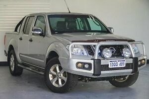 2011 Nissan Navara D40 MY11 ST-X 550 Silver 7 Speed Sports Automatic Utility Victoria Park Victoria Park Area Preview
