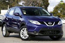 2015 Nissan Qashqai J11 ST Ink Blue 1 Speed Constant Variable Wagon Frankston Frankston Area Preview