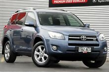2009 Toyota RAV4 GSA33R MY09 SX6 Blue Storm 5 Speed Automatic Wagon Adelaide CBD Adelaide City Preview