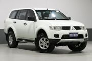 2012 Mitsubishi Challenger PB MY12 LS (5 Seat) (4x4) White 5 Speed Automatic Wagon Bentley Canning Area Preview
