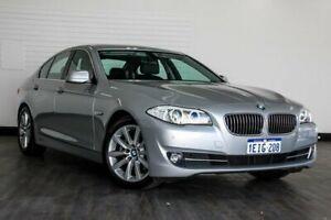 2013 BMW 520d F10 LCI Modern Line Steptronic Silver 8 Speed Sports Automatic Sedan