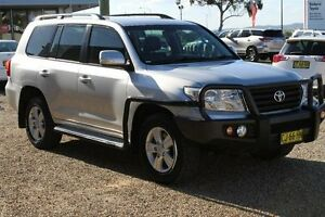 2012 Toyota Landcruiser VDJ200R Altitude SE Silver Pearl 6 Speed Automatic Wagon Windradyne Bathurst City Preview