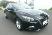2014 Mazda 3 BM5478 Maxx SKYACTIV-Drive Black 6 Speed Sports Automatic Hatchback South Gladstone Gladstone City Preview
