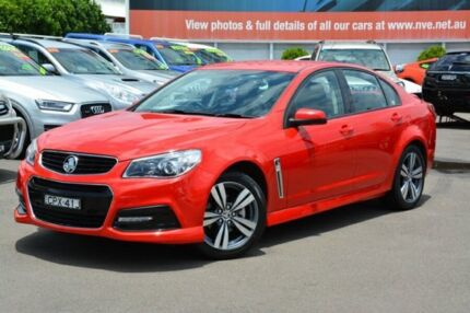 2014 Holden Commodore VF MY14 SV6 Red 6 Speed Sports Automatic Sedan New Lambton Newcastle Area Preview