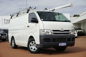 2010 Toyota Hiace KDH201R MY10 LWB White 4 Speed Automatic Van Balcatta Stirling Area Preview