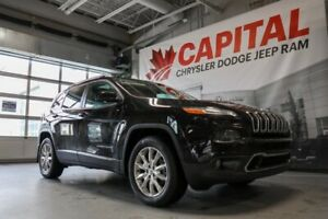 2017 Jeep Cherokee Limited |  Full Sunroof | Ventilated Front Se