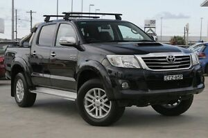 2013 Toyota Hilux KUN26R MY14 SR5 Xtra Cab Grey 5 Speed Manual Utility Gymea Sutherland Area Preview