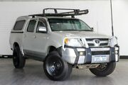 2005 Toyota Hilux GGN25R MY05 SR5 Silver 5 Speed Automatic Utility Victoria Park Victoria Park Area Preview