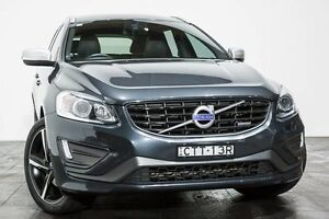 2014 Volvo XC60 DZ MY14 D5 Geartronic AWD R-Design Grey 6 Speed Sports Automatic Wagon Rozelle Leichhardt Area Preview