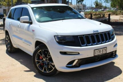 2013 Jeep Grand Cherokee WK MY2013 SRT-8 White 5 Speed Sports Automatic Wagon Thebarton West Torrens Area Preview