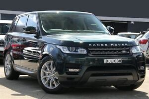 2013 Land Rover Range Rover LW Sport 3.0 SDV6 SE Green 8 Speed Automatic Wagon Petersham Marrickville Area Preview