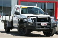 2010 Isuzu D-MAX MY09 EX White 5 Speed Manual Cab Chassis Kippa-ring Redcliffe Area Preview