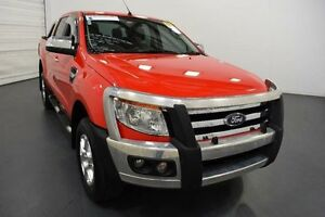 2014 Ford Ranger PX XLT Double Cab Red Sports Automatic Utility Moorabbin Kingston Area Preview