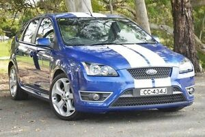 2007 Ford Focus LS XR5 Turbo Blue 6 Speed Manual Hatchback Valley View Salisbury Area Preview