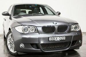 2007 BMW 130i E87 Sport Grey 6 Speed Manual Hatchback Rozelle Leichhardt Area Preview