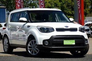 2016 Kia Soul PS MY17 SI Clear White 6 Speed Sports Automatic Hatchback Yeerongpilly Brisbane South West Preview