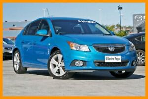 2014 Holden Cruze JH Series II MY14 Equipe Blue 6 Speed Sports Automatic Hatchback Hillcrest Logan Area Preview