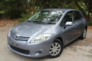 2011 Toyota Corolla ZRE152R MY11 Ascent Blue 4 Speed Automatic Hatchback Hawthorn Mitcham Area Preview