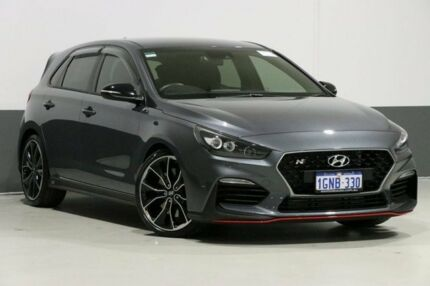 2018 Hyundai i30 PDE N Performance Grey 6 Speed Manual Hatchback Bentley Canning Area Preview