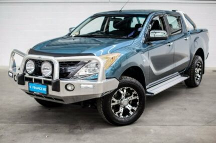 2012 Mazda BT-50 UP0YF1 XTR Blue 6 Speed Sports Automatic Utility Thornlie Gosnells Area Preview